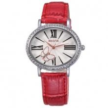 Đồng hồ nữ SKONE 9369 màu đỏ