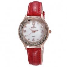 Đồng hồ nữ Skone 9378 - đỏ