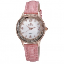 Đồng hồ nữ SKONE 9378 màu hồng