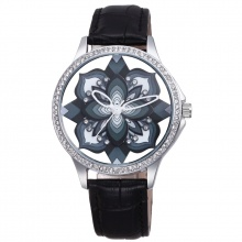 Đồng hồ nữ SKONE 9297 màu đen