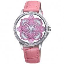Đồng hồ nữ SKONE 9297 màu hồng