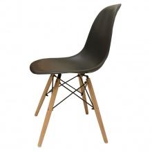 Ghế cafe Eames chân gỗ đen