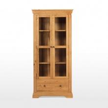 Tủ trưng bày IBIE 2 cánh kính Victoria gỗ sồi