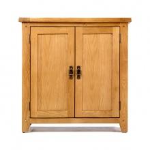 Tủ chén thấp IBIE 2 cánh Rustic gỗ sồi