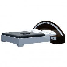 Bộ giường ngủ Kyoto 2m trắng - IBIE