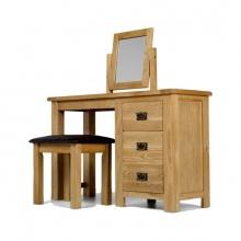 Bộ bàn trang điểm IBIE Rustic gỗ sồi
