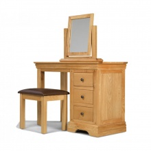 Bộ bàn trang điểm IBIE Victoria gỗ sồi