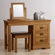 Bộ bàn trang điểm IBIE French gỗ sồi
