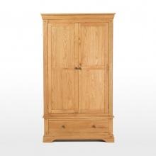 Tủ quần áo Victoria 2 cánh gỗ sồi - IBIE
