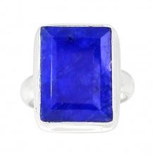 Nhẫn đá Sapphire bạc 925 cao cấp Hadosa