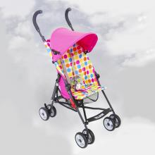 Xe đẩy trẻ em Malus màu hồng