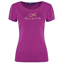 Kisetsu - Áo cổ tròn tay ngắn nữ - Purple