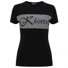 Kisetsu - Áo nữ cổ tròn - Black