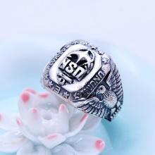 Nhẫn bạc nam size 9 hadosa
