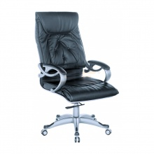Ghế Giám đốc IB014 2 cần chân ngoại nhập cao cấp màu đen - IBIE