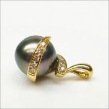 Mặt dây chuyền ngọc trai mạ vàng 14k - MDC305