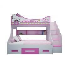 Giường tầng cao hình Hello Kitty 1m2 - IBIE