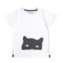 Áo thun in hoạ tiết We love cat Tiniboo