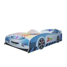 Giường bé trai hình ôtô màu xanh 1m2 - IBIE