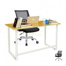 Bộ bàn Rec-F trắng và ghế IB517 đen