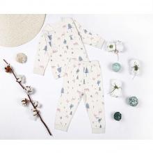 Bộ Pajamas noel Organic cotton (bé gái) - Mimi
