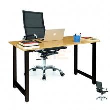 Bộ bàn Oak-T đen và ghế IB16A đen