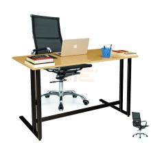 Bộ bàn Oak-U đen và ghế IB16A đen