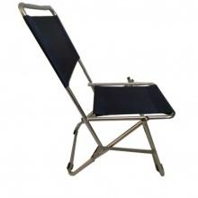 Ghế xếp inox có lưng tựa GXI-L01 44 x 42 x 66 cm (Xanh)