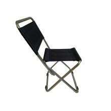 Ghế xếp inox có lưng tựa nhỏ GXI-L03 35 x 30 x 65 cm (xanh)