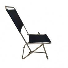 Ghế xếp inox có lưng tựa cao GXI-L02 44 x 42 x 86 cm (xanh)