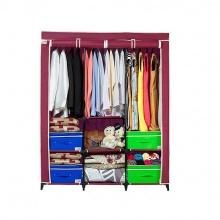 Tủ vải Thanh Long TVAI14 132 x 46 x 160 cm (Đỏ)