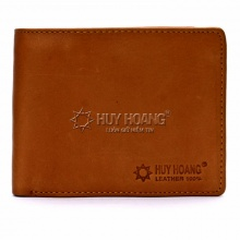Bộ bóp & dây nịt nam Huy Hoàng da bò màu da - HV2101-HV4128