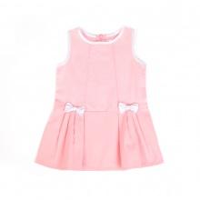 Đầm nơ hồng Tiniboo (Hồng Nhạt)
