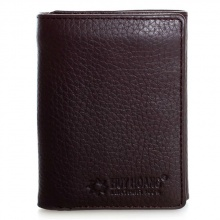 Bộ ví & thắt lưng nữ Huy Hoàng da bò màu nâu HV3138-HV5112