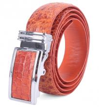 Bộ bóp & dây nịt nam Huy Hoàng da cá sấu màu vàng HV2203-HV4203