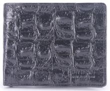 Bộ Bóp & Dây nịt nam Huy Hoàng da bò màu đen HV2117-HV4117