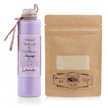Combo muối tắm massage oải hương và bột cam thảo