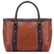 Túi quàng vai Huy Hoàng viền dọc màu bò đậm HV6183