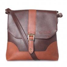 Túi đeo Ipad Huy Hoàng màu nâu HV6152