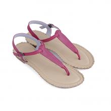 Giày sandal Huy Hoàng đế thấp màu tím HV7026