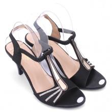 Giày nữ Huy Hoàng màu đen HV7051