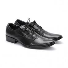 Giày tây nam Huy Hoàng màu đen HV7103