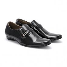Giày tây nam Huy Hoàng màu đen HV7105