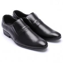 Giày tây nam Huy Hoàng màu đen HV7107