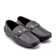 Giày mọi nam Huy Hoàng màu nâu đất HV7113