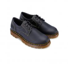 Giày mọi nam Huy Hoàng màu đen  HV7118