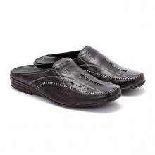 Giày sabo nam Huy Hoàng màu đen  HV7125