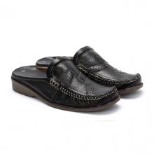 Giày sabo nam Huy Hoàng màu nâu  HV7127