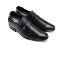 Giày tăng chiều cao Huy Hoàng màu đen HV7162