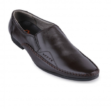 Giày nam Huy Hoàng màu nâu HV7193